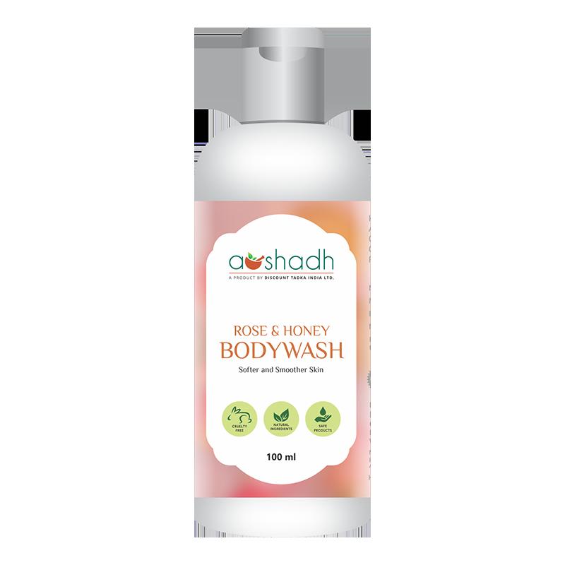 Rose and Honey Body Wash (100ml)