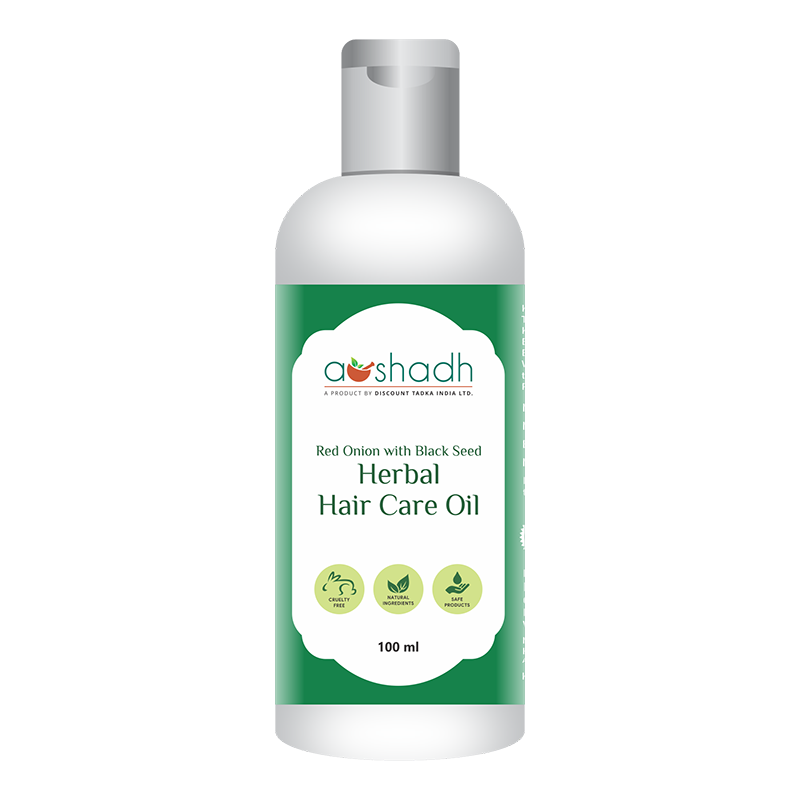 Red Onion with Black Seed Herbal Hair Care Oil (100ml)