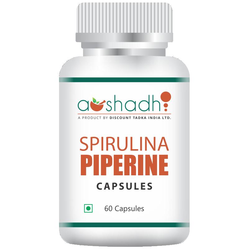 Spirulina (60 Capsules)