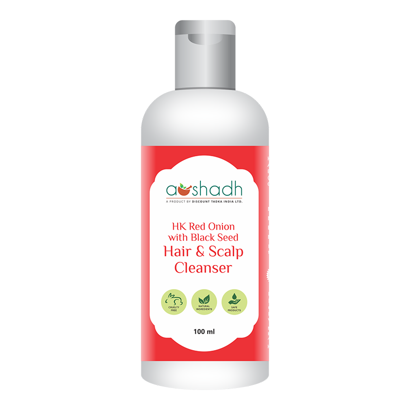 HK Red Onion with Black Seed Hair & Scalp Cleanser (100ml)