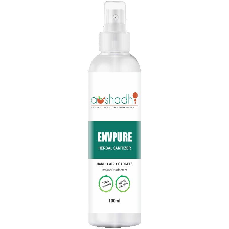 Envpure Herbal Sanitizer  (100 ML)